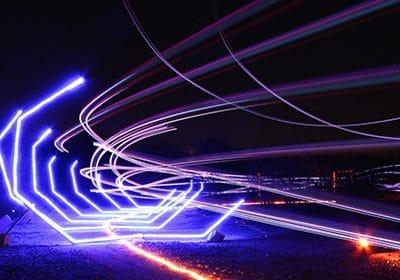 Une course de FPV Racing de nuit !