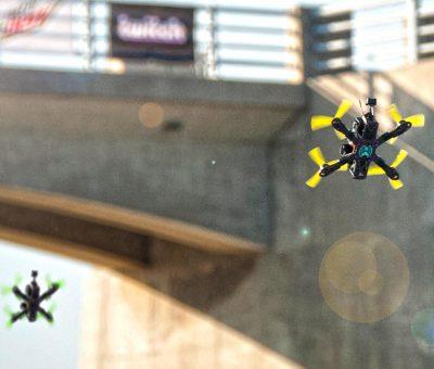 Course de drones : le DR1 Racing en exclusivité sur Eurosport
