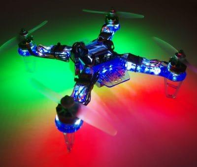 DIATONE FPV 250 BLUE GHOST LED NIGHT