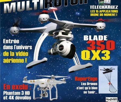 Drone MultiRotor, le magazine est dans les kiosques !