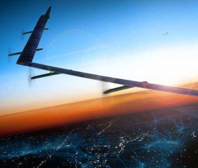 Facebook teste son énorme drone solaire pour connecter la planète