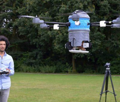 Un drone anti-mines pour sauver des milliers de vies