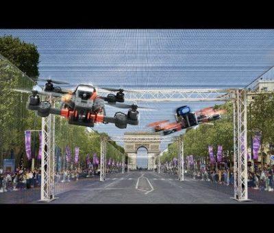 Une course de drones à Paris !